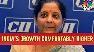 Nirmala Sitharaman Says India's Growth Is Still Comfortably Higher Compared To Everybody Else