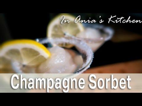Champagne Sorbet - Sorbet Szampanski - Recipe #261