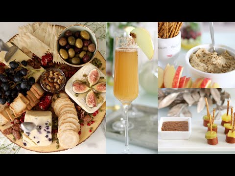 How To Create An Epic Cheese Board! And More Party Food Ideas iHeartFall ep12 MissLizHeart