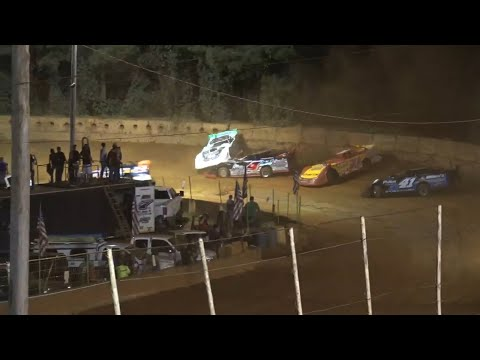 Limited Late Model at Winder Barrow Speedway August 14th 2021 - dirt track racing video image