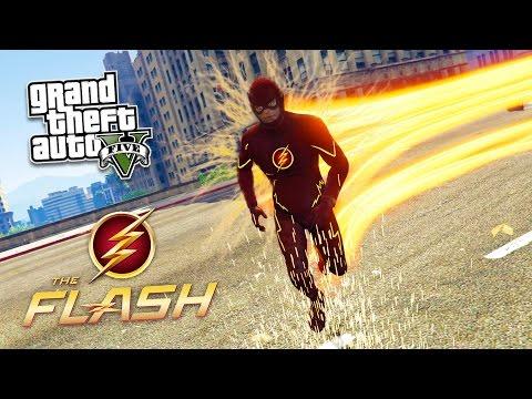 "GTA 5 PC Mods - ULTIMATE ""THE FLASH"" MOD!! GTA 5 The Flash Mod Gameplay! (GTA 5 Mod Gameplay) - UC2wKfjlioOCLP4xQMOWNcgg"