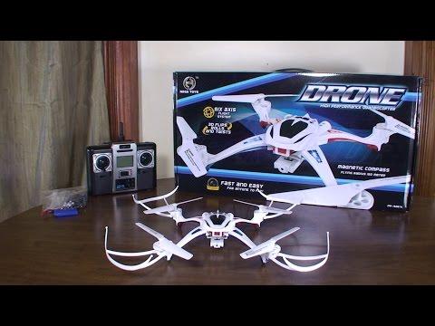 Nihui Toys - U807C Drone - Review and Flight (Indoor & Outdoor) - UCe7miXM-dRJs9nqaJ_7-Qww