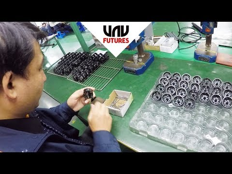 INSIDE the largest drone factories in CHINA! - UC3ioIOr3tH6Yz8qzr418R-g