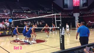 Men's Volleyball - Stanford vs BYU - April 2019