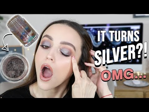 MIXING ALL MY PIGMENTS TOGETHER!!! + TRYING NEW DRUGSTORE (mainly) MAKEUP - UC8v4vz_n2rys6Yxpj8LuOBA