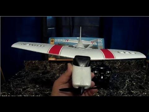 WLtoys F949 Cessna 182 Review And Flight On a Windy Day (GEARBEST) - UCU33TAvzA-wgPMgcrdMVIdg