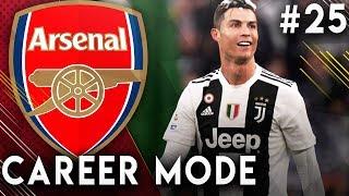 FIFA 19 Arsenal Career Mode EP25 - Facing Ronaldo's Juventus In The Champions League!!