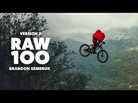 Brandon Semenuk Shreds a Pristine Slopestyle MTB Trail | Raw 100 - UCblfuW_4rakIf2h6aqANefA