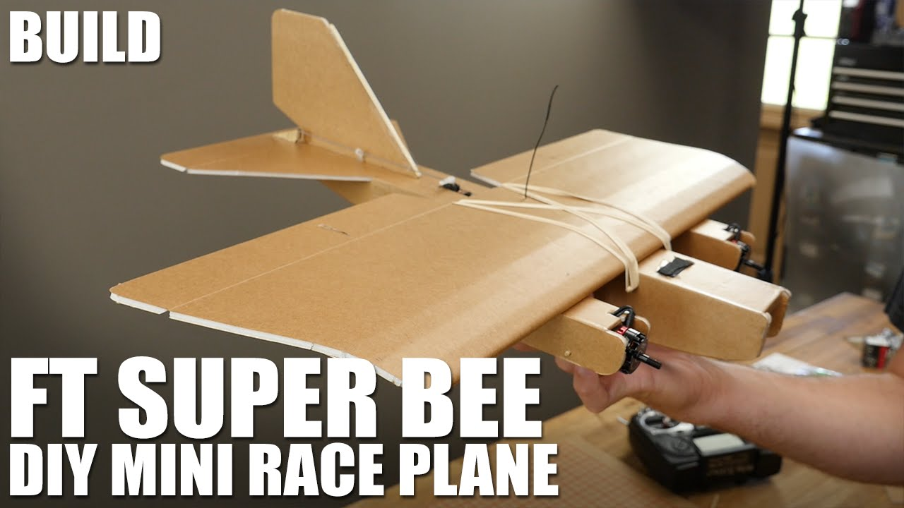 FT Super Bee - BUILD | Flite Test | Racer lt