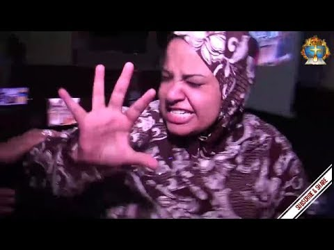 Demonic muslim  jinn cast out in Jesus Name @ Egyptian Church (English Subtitles)