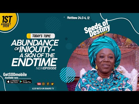 Dr Becky Paul-Enenche - SEEDS OF DESTINY - SATURDAY AUGUST 1, 2020