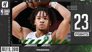Carsen Edwards Full Highlights Celtics vs Nuggets (2019.07.09) Summer League - 23 Points!