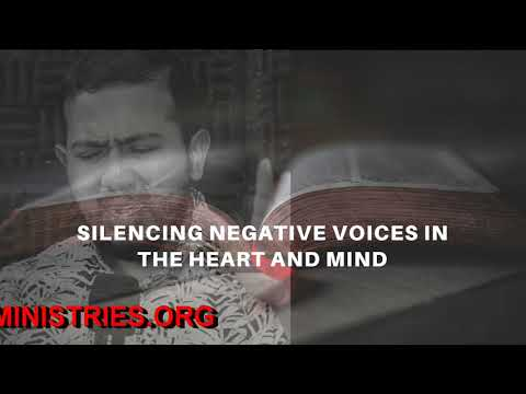 EV. GABRIEL FERNANDES SHARES ON SILENCING NEGATIVE VOICES IN THE HEART & MIND AND HE PRAYS FOR YOU
