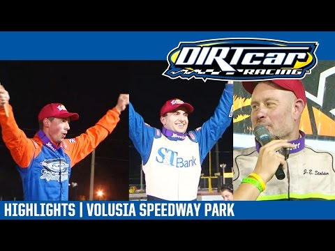 UMP Modifieds Triple 15's Volusia Speedway Park DIRTcar Nationals February 21, 2017 | HIGHLIGHTS - dirt track racing video image