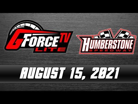 GForceTV Lite - Humberstone Speedway - August 15, 2021 - dirt track racing video image