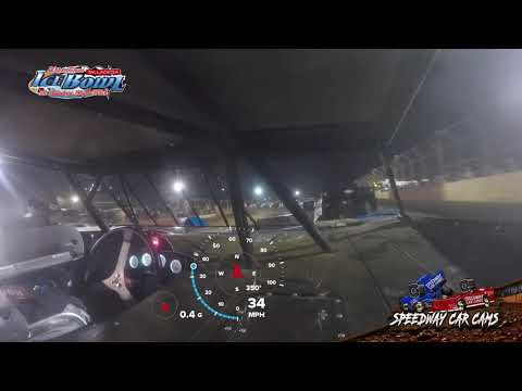 #11 Griffin Alexander - Limited Late Model - Ice Bowl 2021 - Talladega Short Track - In-Car Camera - dirt track racing video image