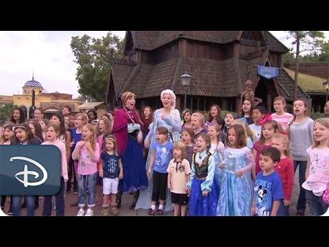 Frozen's 'Let it Go' on Good Morning America | Walt Disney World - UC1xwwLwm6WSMbUn_Tp597hQ