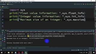 How to Determine the largest and smallest integers, longs, floats in Python