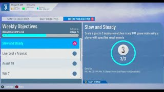 FIFA 19- Ultimate Team: Weekly Objectives (Slow and Steady) Reward #1164