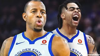 Andre Iguodala Traded And D'Angelo Russell To The Warriors