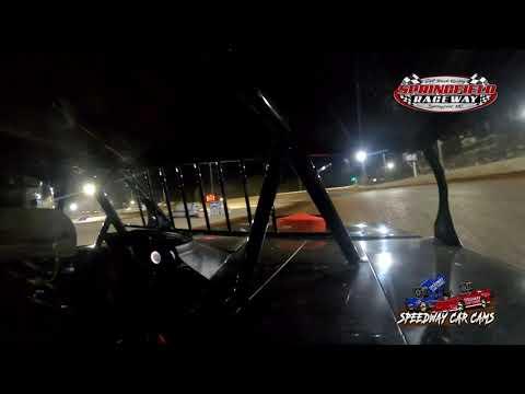 #780 Wesley Long - USRA B-Modified - 9-18-2021 Springfield Raceway - In Car Camera - dirt track racing video image