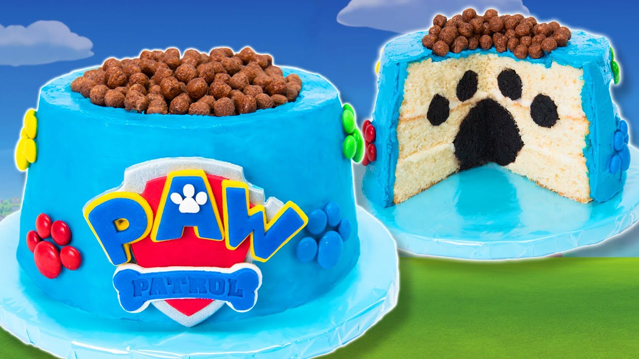 How To Make A Paw Patrol Cake From Cookies Cupcakes And