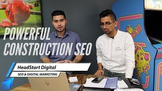 The 2020 Powerful and Tailored Construction SEO Strategy by HeadStart Digital Marketing Agency