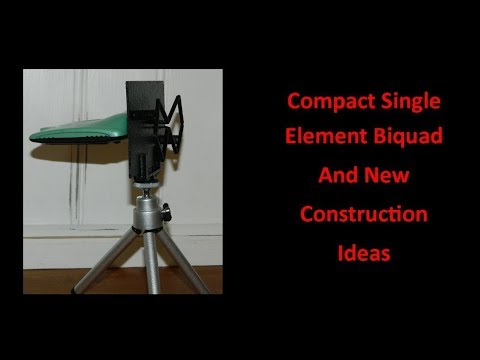 Compact Single Element Biquad And New Construction Ideas - UCHqwzhcFOsoFFh33Uy8rAgQ