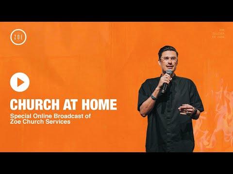 CHURCH AT HOME (Live)  Chad Veach  10AM Service