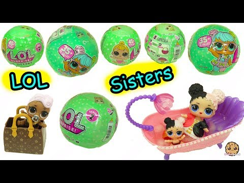 LOL Surprise  Lil Sisters Series 2 !! Baby Dolls Blind Bag Color Change Video ? - UCelMeixAOTs2OQAAi9wU8-g