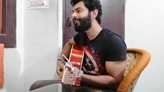 Chhod diya using keyboard and guitar  - raina17 , Acoustic