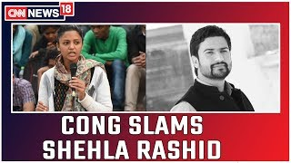 Cong Leader Salman Nizami Slams Shehla Rashid For Spreading 'Fake News'; No Incident Like The Tweet