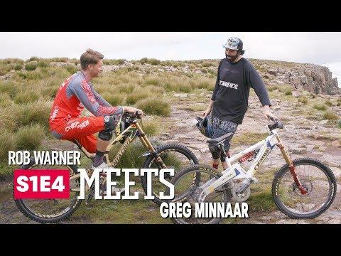 Shredding Trail & Talking MTB w/ Greg Minnaar | Rob Meets: Ep 4 - UCXqlds5f7B2OOs9vQuevl4A