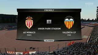Monaco vs Valencia||Club Friendly Match||HD Gameplay||Fifa19||Highlights||