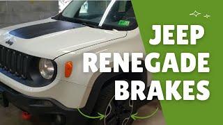 Sostituzione pastiglie freni Jeep Renegade