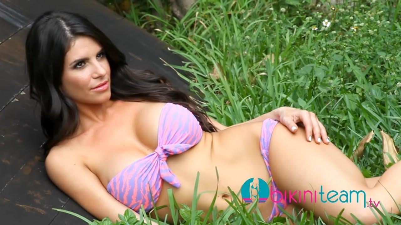 Lizelle Rodriguez Sexy Latina Bikini Model Video Shoot with Photographer Eric Taylor