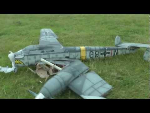 Messerschmitt BF-110 r/c crash - UCXWN0X-yJHJ65Uz7_ttqY1Q