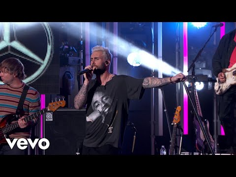 Maroon 5 - What Lovers Do (Jimmy Kimmel Live!/2018) - UCN1hnUccO4FD5WfM7ithXaw