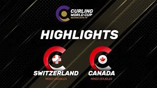 HIGHLIGHTS: Switzerland v Canada - Mixed Doubles - Curling World Cup Grand Final - Beijing, China