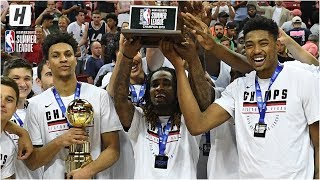 Trophy Presentation Ceremony - Memphis Grizzlies - 2019 NBA Summer League