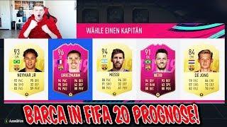 Wir nehmen alle neuen TRANSFERS von Barca mit! Fifa 20 Fut Draft Prognose! - Fifa 19 Ultimate Team