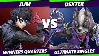 Smash Ultimate Tournament - BG   JLim (Joker) Vs. Dexter (Wolf) S@X 316 SSBU Winners Quarters