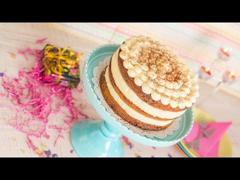 Nude Cake de Café y Queso Crema | Quiero Cupcakes!