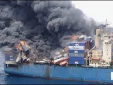 Disaster On Open Seas / Also Denmark Train Crash 8 Dead
