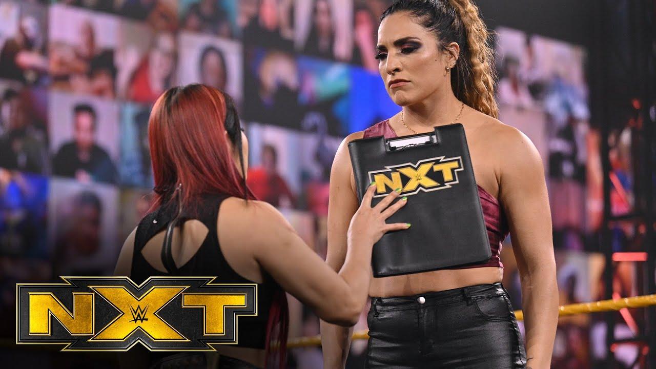 Io Shirai wants her match with Raquel González: WWE NXT, March 17, 2021