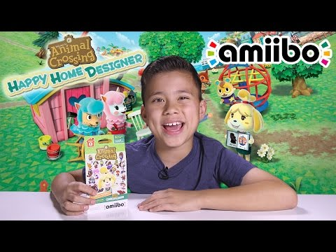 Animal Crossing HAPPY HOME DESIGNER!! amiibo card action on the Nintendo 3DS! - UCHa-hWHrTt4hqh-WiHry3Lw