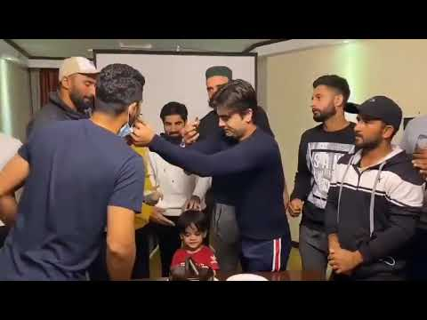 Ahmad Shahzad's Birthday Celebrations By Central Punjab