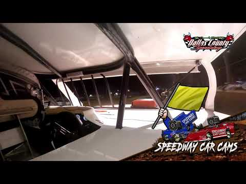 #83 JC Newell - B Mod - 8-13-2021 Dallas County Speedway - In Car Camera - dirt track racing video image
