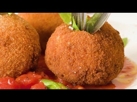 Meat Stuffed Rice Balls