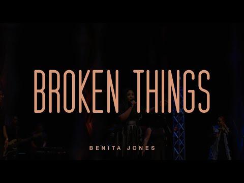 Broken Things (Official Live Video) - Benita Jones